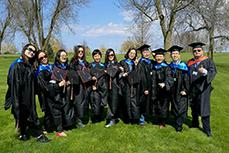 CUW校园巡礼2017.5 美国毕业典礼
